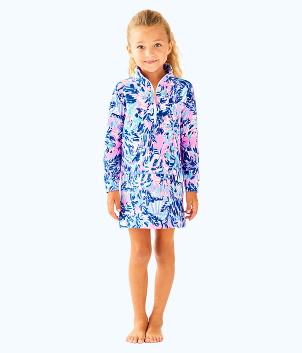 Girls Mini Skipper Dress, Multi Cabana Cocktail Reduced, large