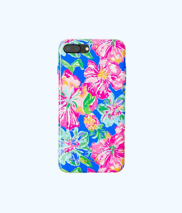 iPhone 7/8 Plus Classic Cover, Beckon Blue Jungle Utopia Tech, large