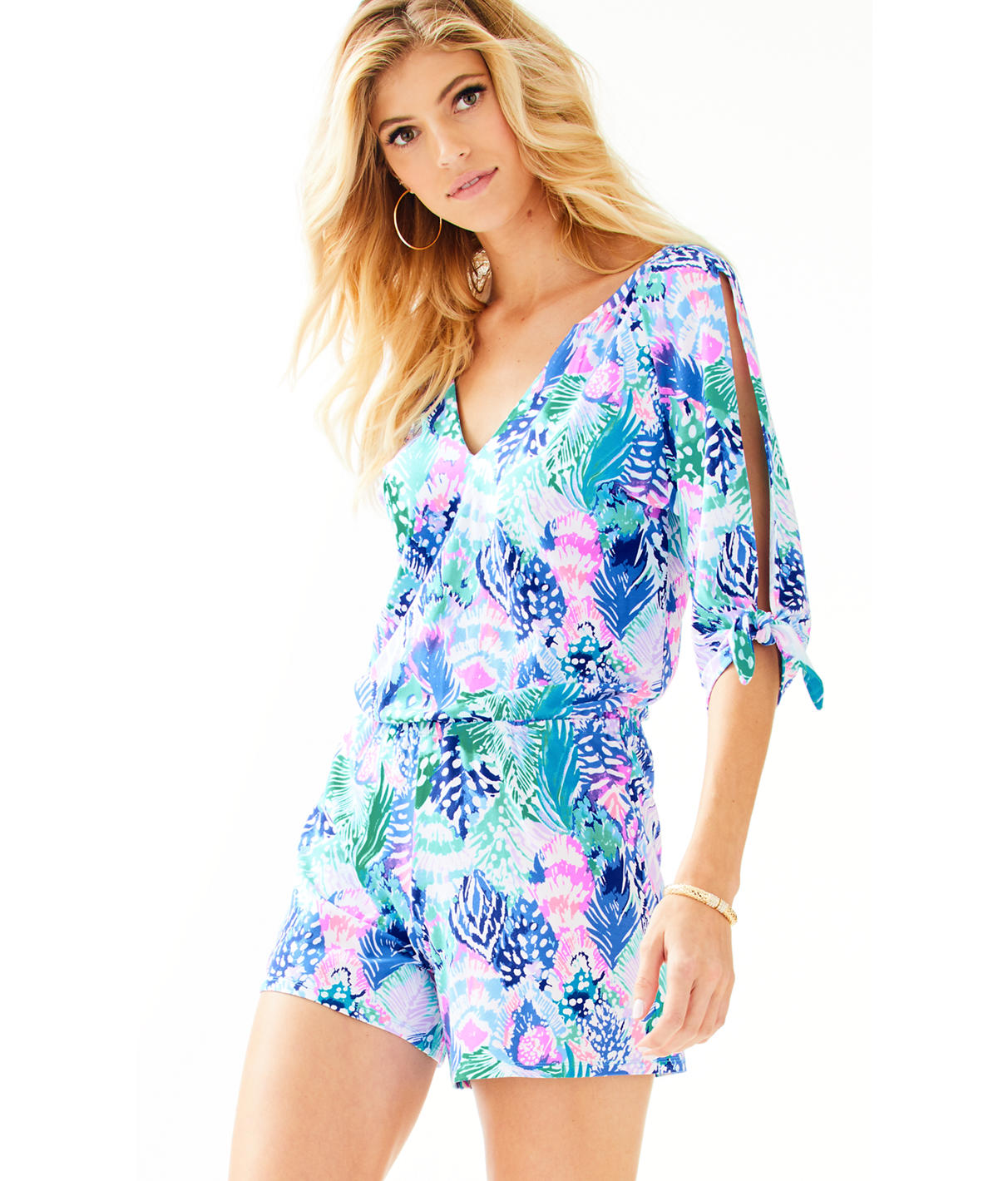 Lilly Pulitzer Lilly Pulitzer Womens Bryce Romper