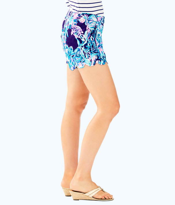 "5"" Buttercup Stretch Twill Short, Bright Navy Caught Up, large"