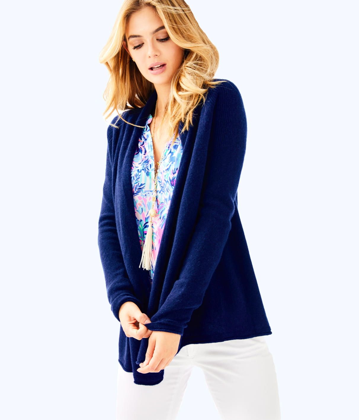 Lilly Pulitzer Seabrook Cashmere Cardigan