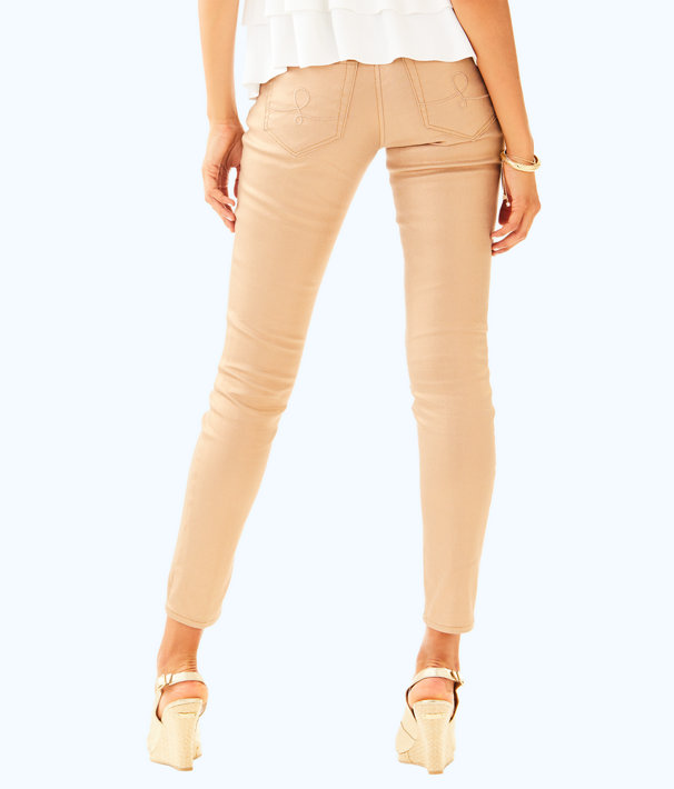 "31"" Worth Skinny Pant, Rose Gold, large"