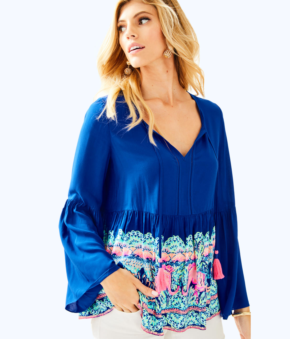 Lilly Pulitzer Lilly Pulitzer Womens Kahli Top
