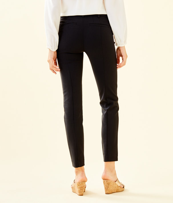 "30"" Chantal Stretch Dinner Pant, Onyx, large"