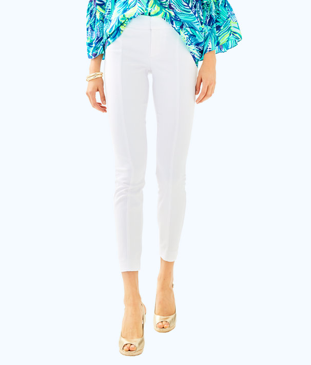 "30"" Chantal Stretch Dinner Pant, Resort White, large"