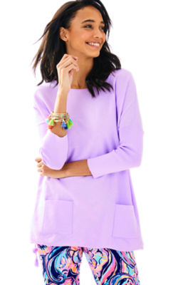 Elba Sweater, Light Lilac Verbena, large