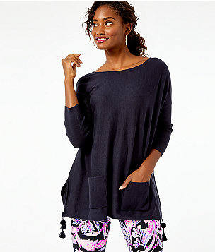 Elba Sweater, Onyx, large