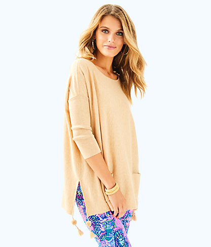 Elba Sweater, Pb Camel Heather, large