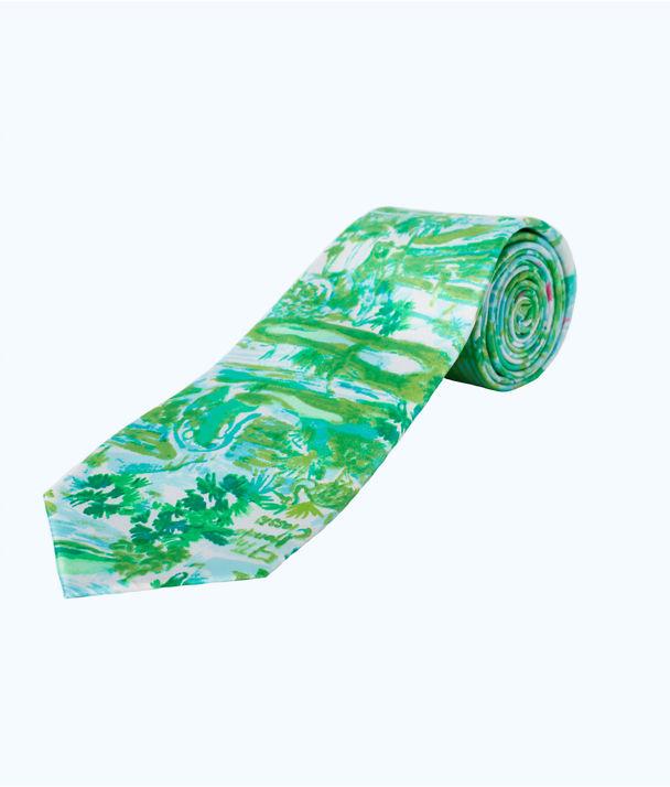Mens Tie, Seasalt Blue Honda Classic Small, large