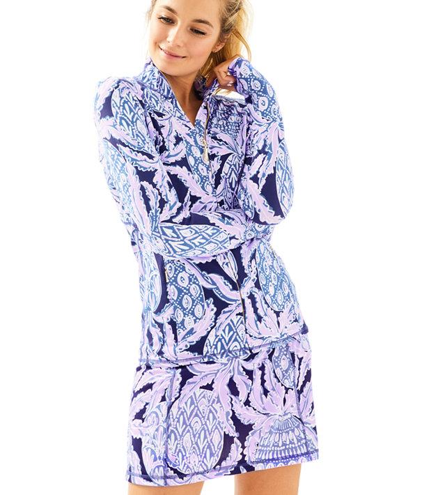 Luxletic Serena Jacket, Beckon Blue Coco Safari, large