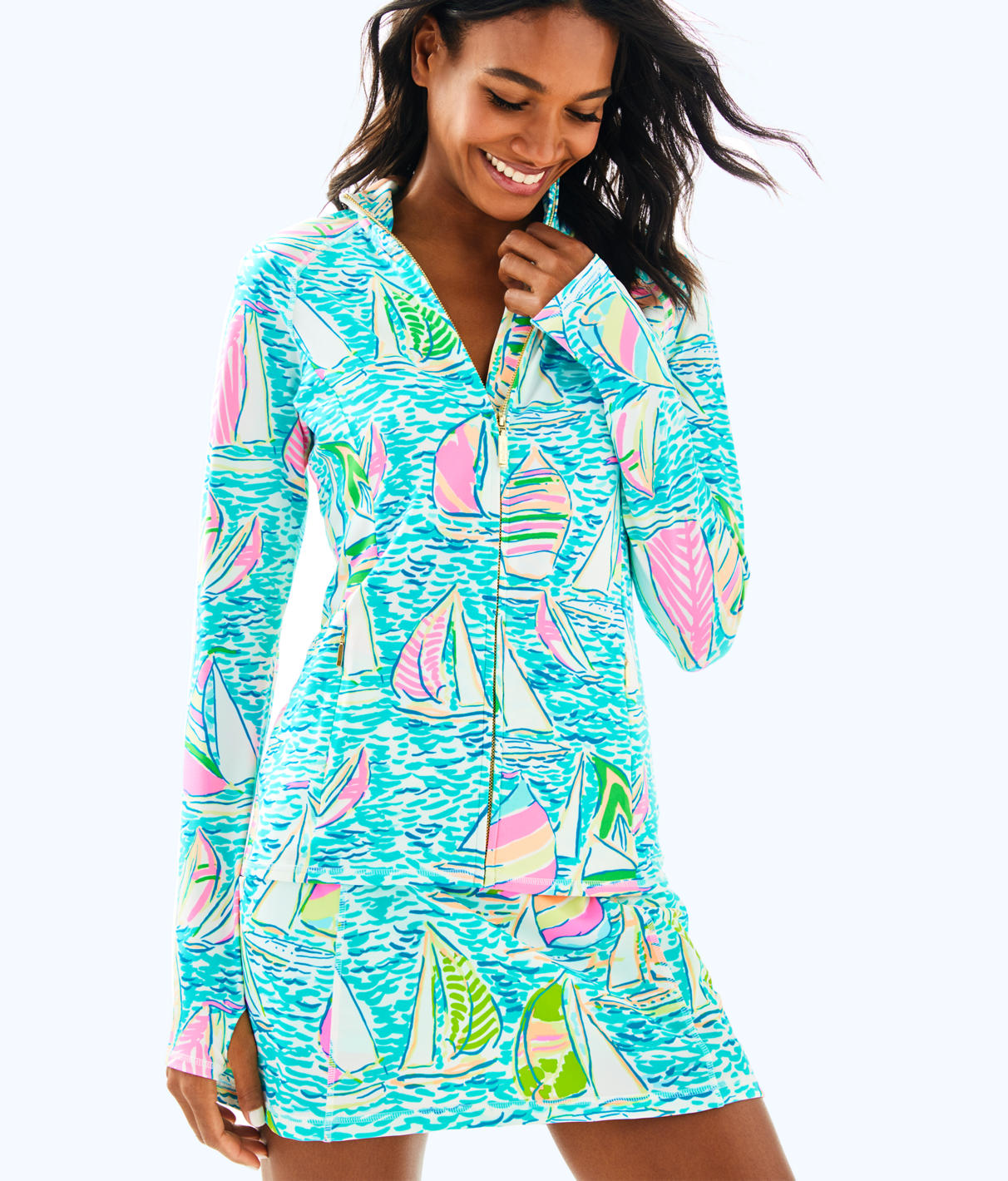 Lilly Pulitzer Lilly Pulitzer Womens Luxletic Serena Jacket
