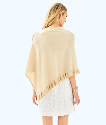 Valiente Wrap, Heathered Sand Dune Metallic, large 1