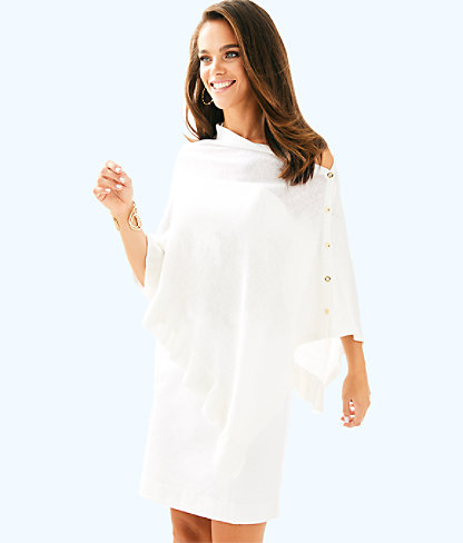 Valiente Wrap, Iridescent White, large