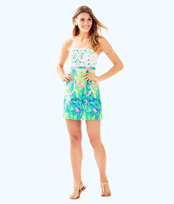 Brynn Dress, Pink Sunset Local Flavor, large