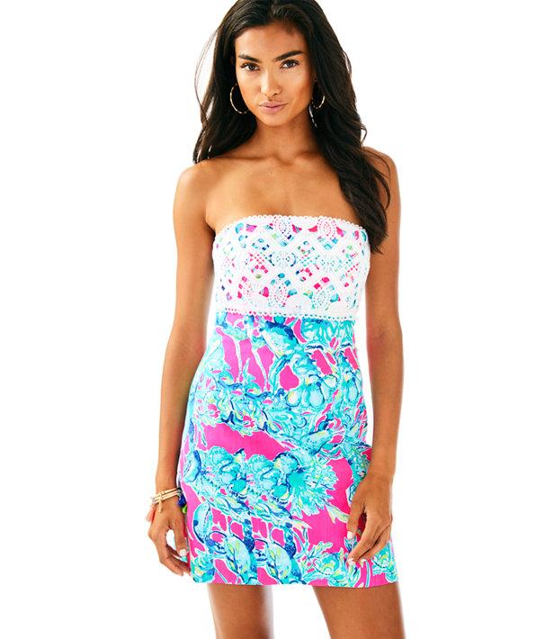 Brynn Dress, Raz Berry Lobsters In Love, large