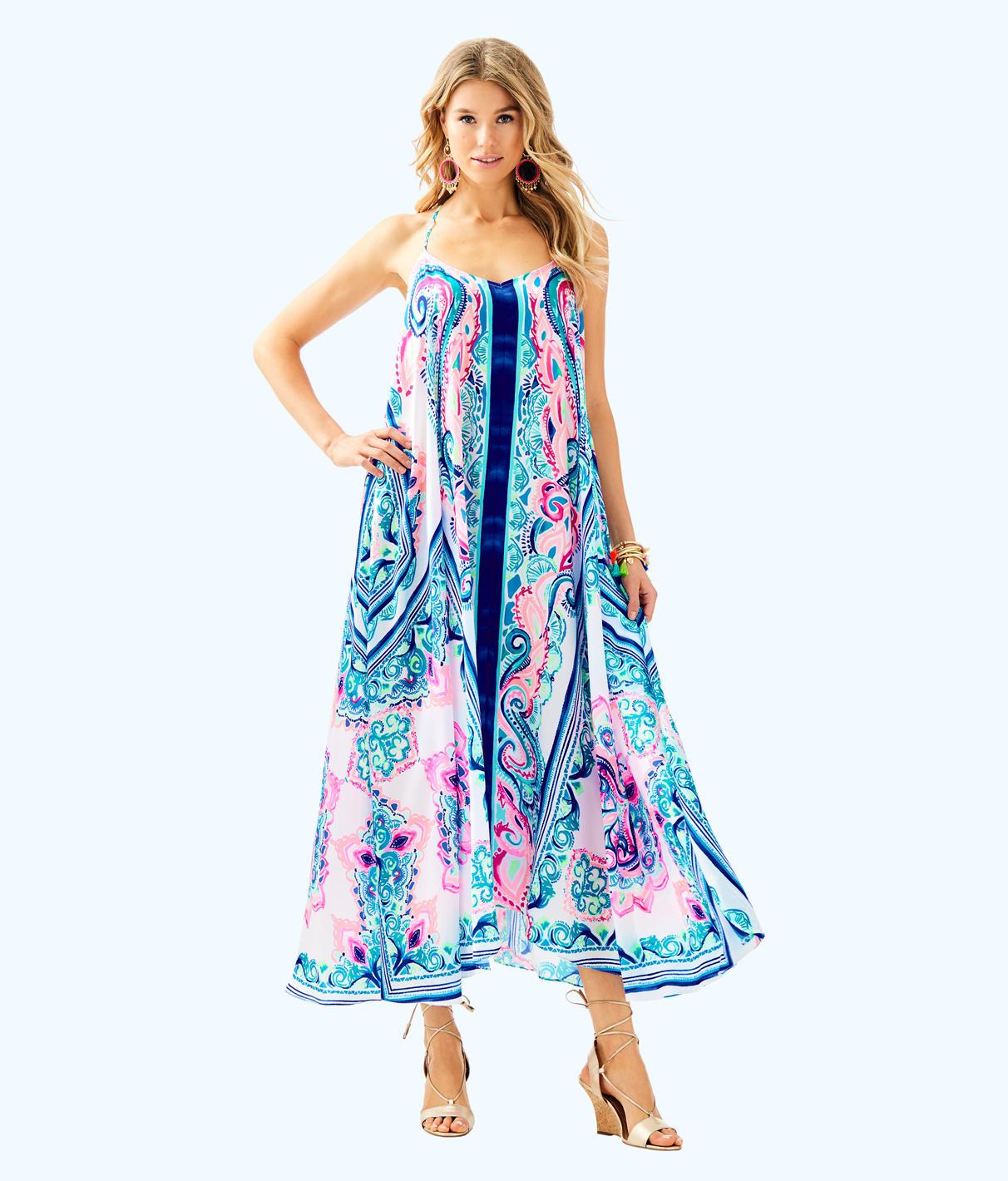 Lilly Pulitzer Lilly Pulitzer Womens Juna Maxi Dress