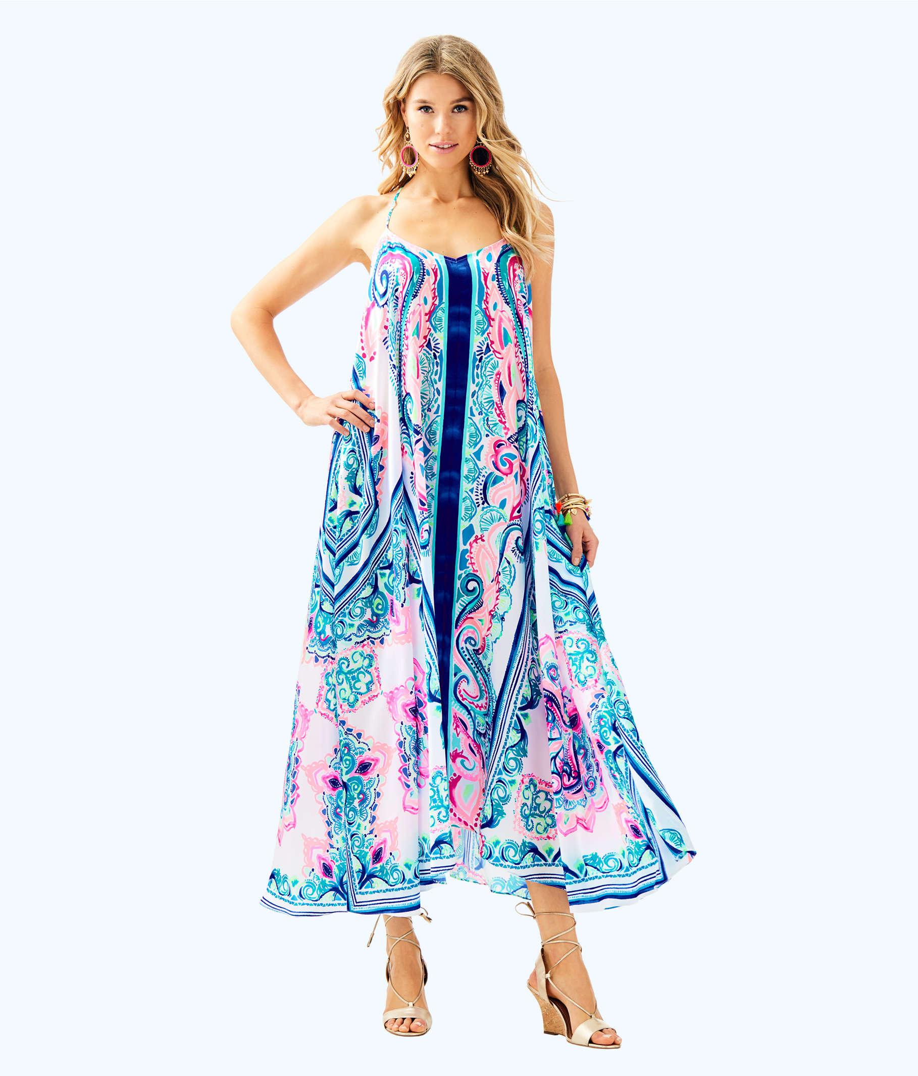 Juna Maxi Dress | 28120 | Lilly Pulitzer