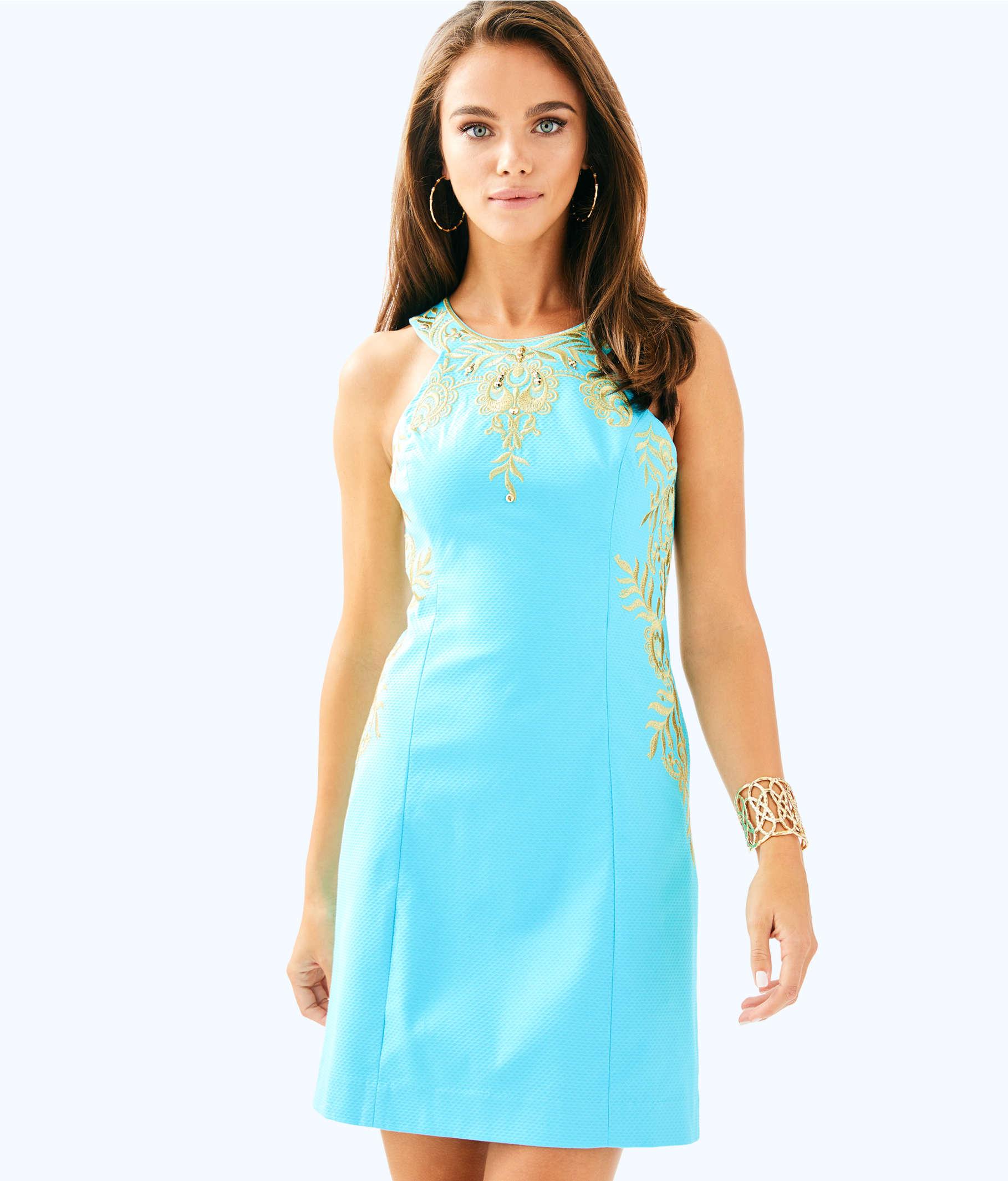 Tina Stretch Shift Dress | 28141 | Lilly Pulitzer