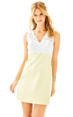 Sandi Stretch Shift Dress, , large