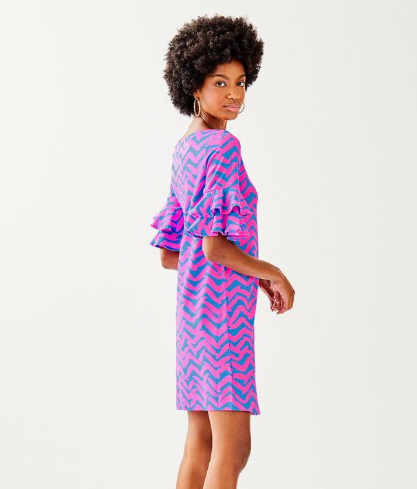 Lula Dress, Bennet Blue Pop Up I Got Lucky, large