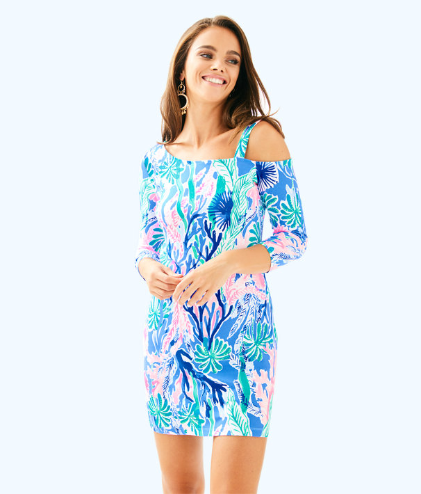 Lori Dress, Multi Jet Stream, large