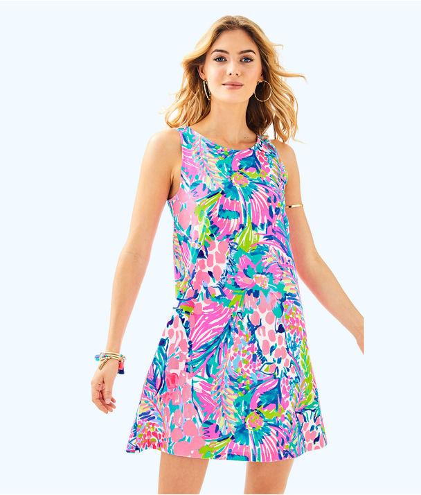 Kristen Dress, Multi Gumbo Limbo, large