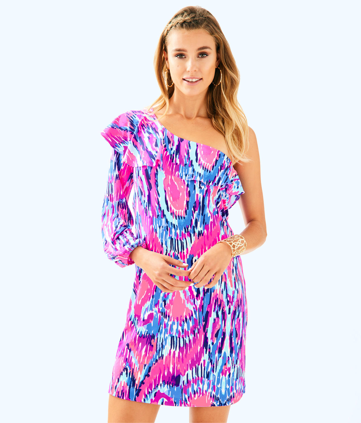 Lilly Pulitzer Lilly Pulitzer Womens Amante Silk Jersey Dress