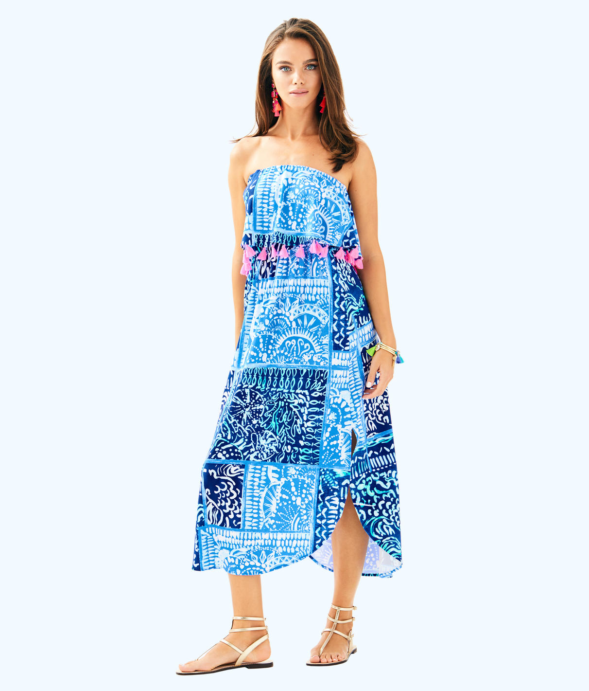 Lilly Pulitzer Lilly Pulitzer Womens Meridian Midi Dress
