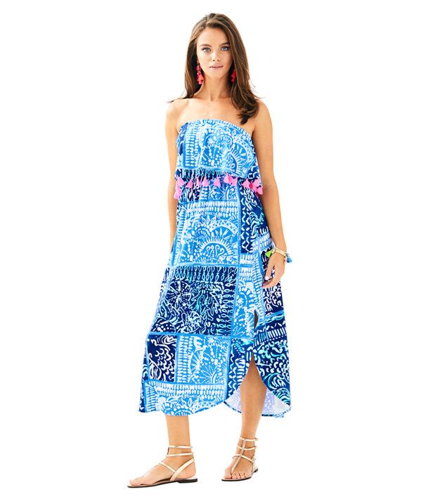 Meridian Midi Dress, , large