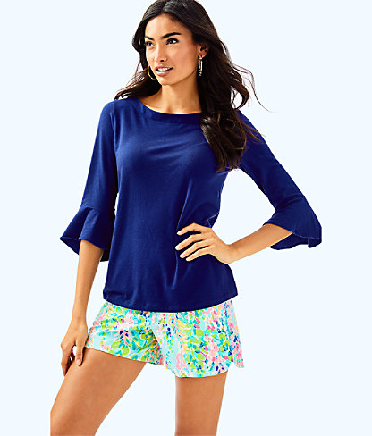 Fontaine Top, High Tide Navy, large