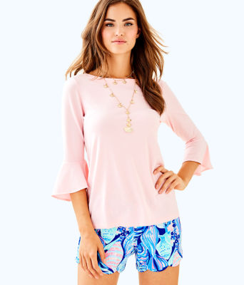 Fontaine Top, Paradise Pink, large