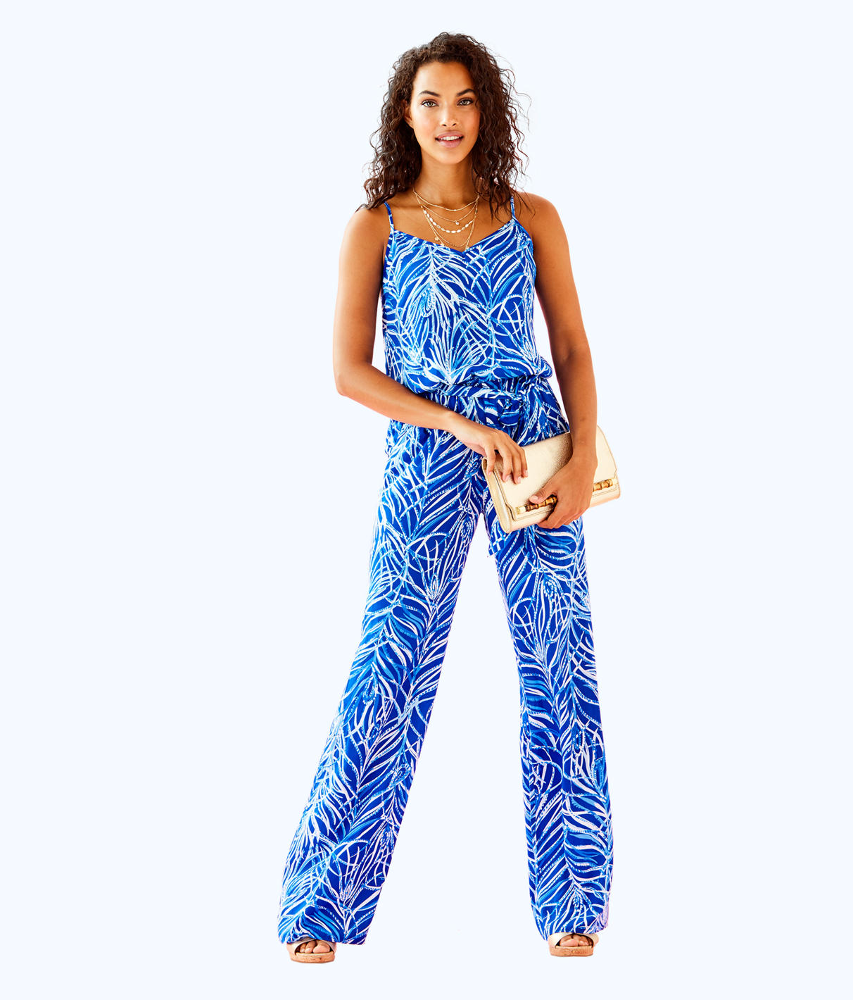 Lilly Pulitzer Lilly Pulitzer Womens Dusk Jumpsuit
