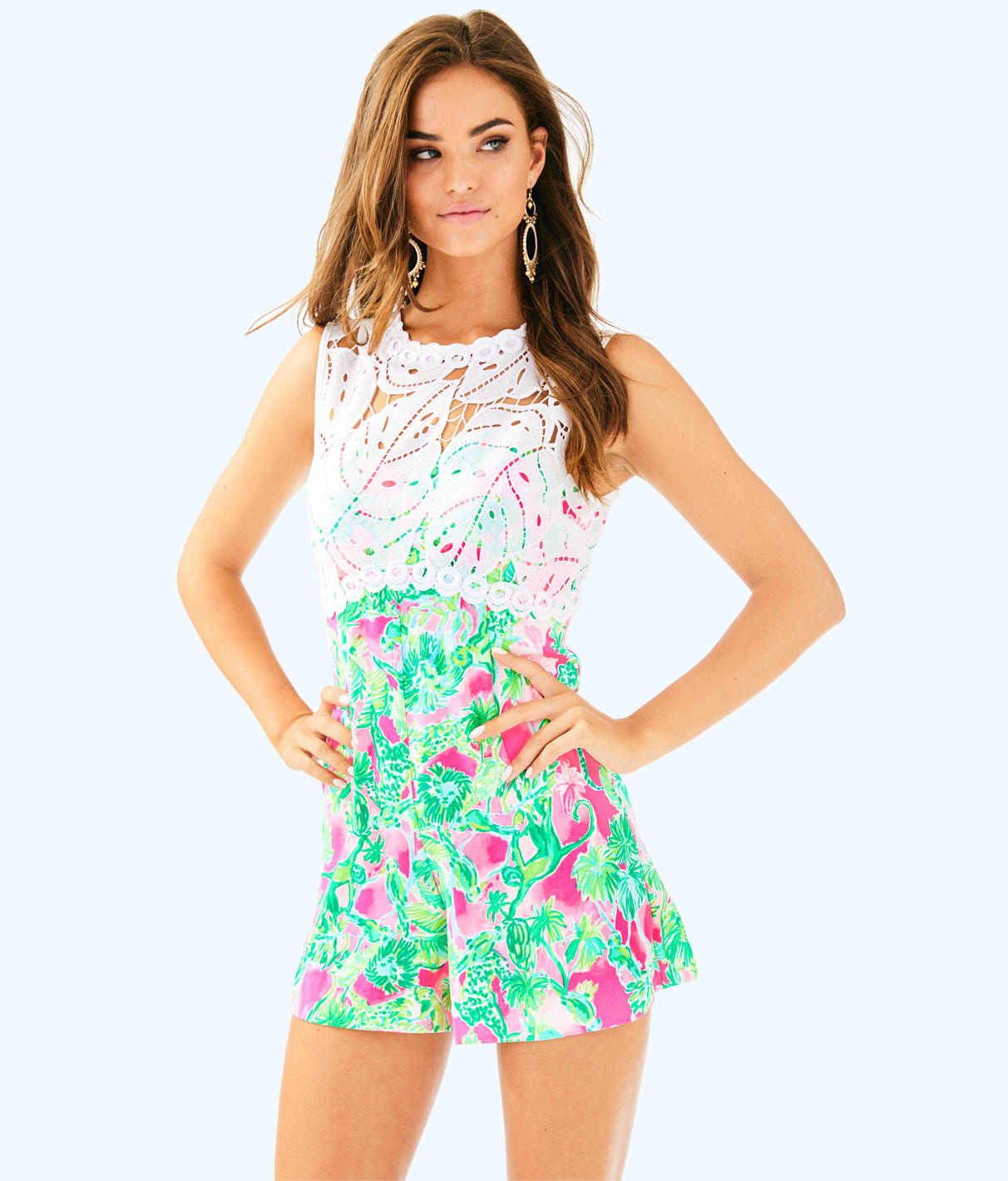 Lilly Pulitzer Lilly Pulitzer Womens Sadie Romper
