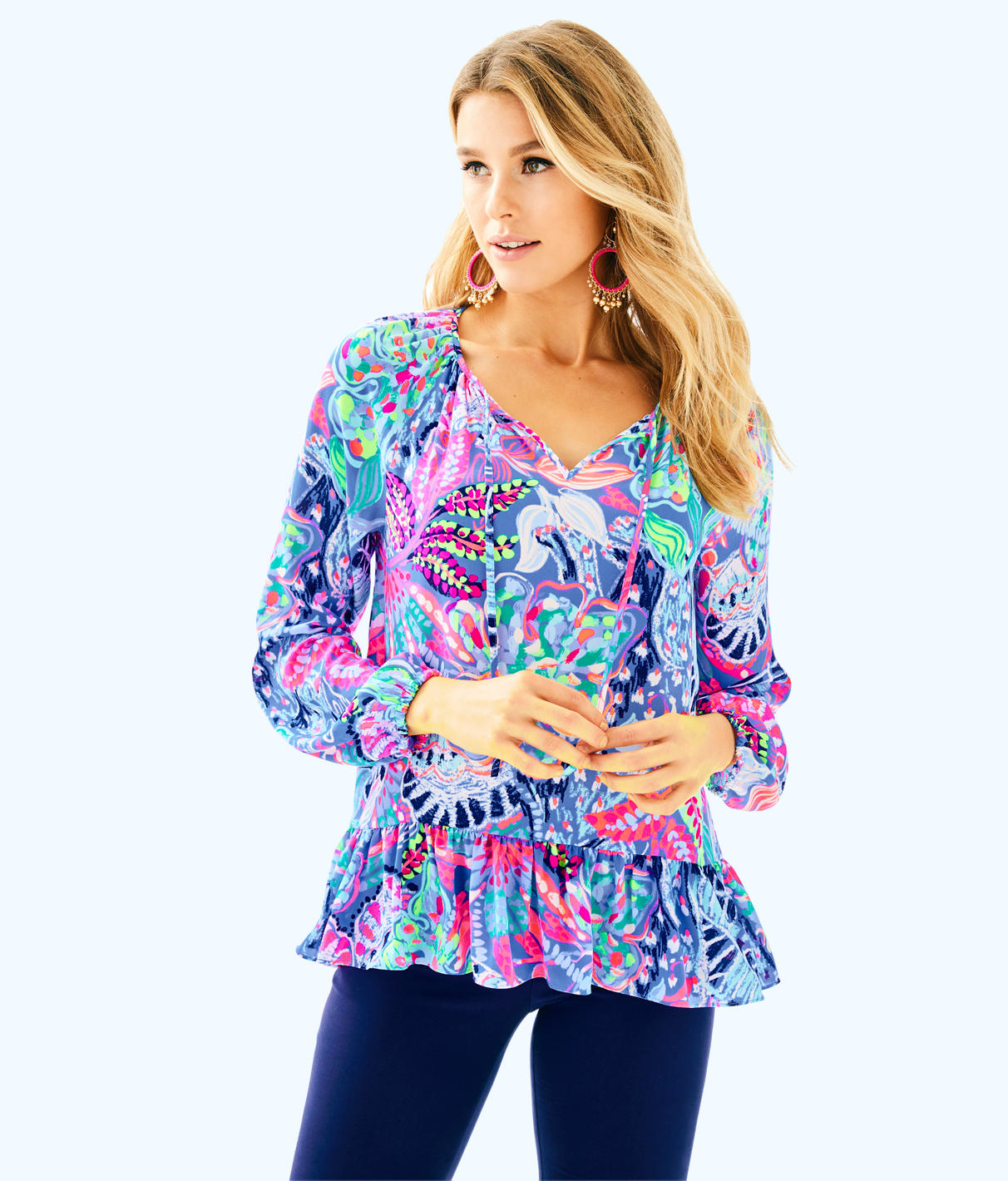 Lilly Pulitzer Lilly Pulitzer Womens Tensley Top