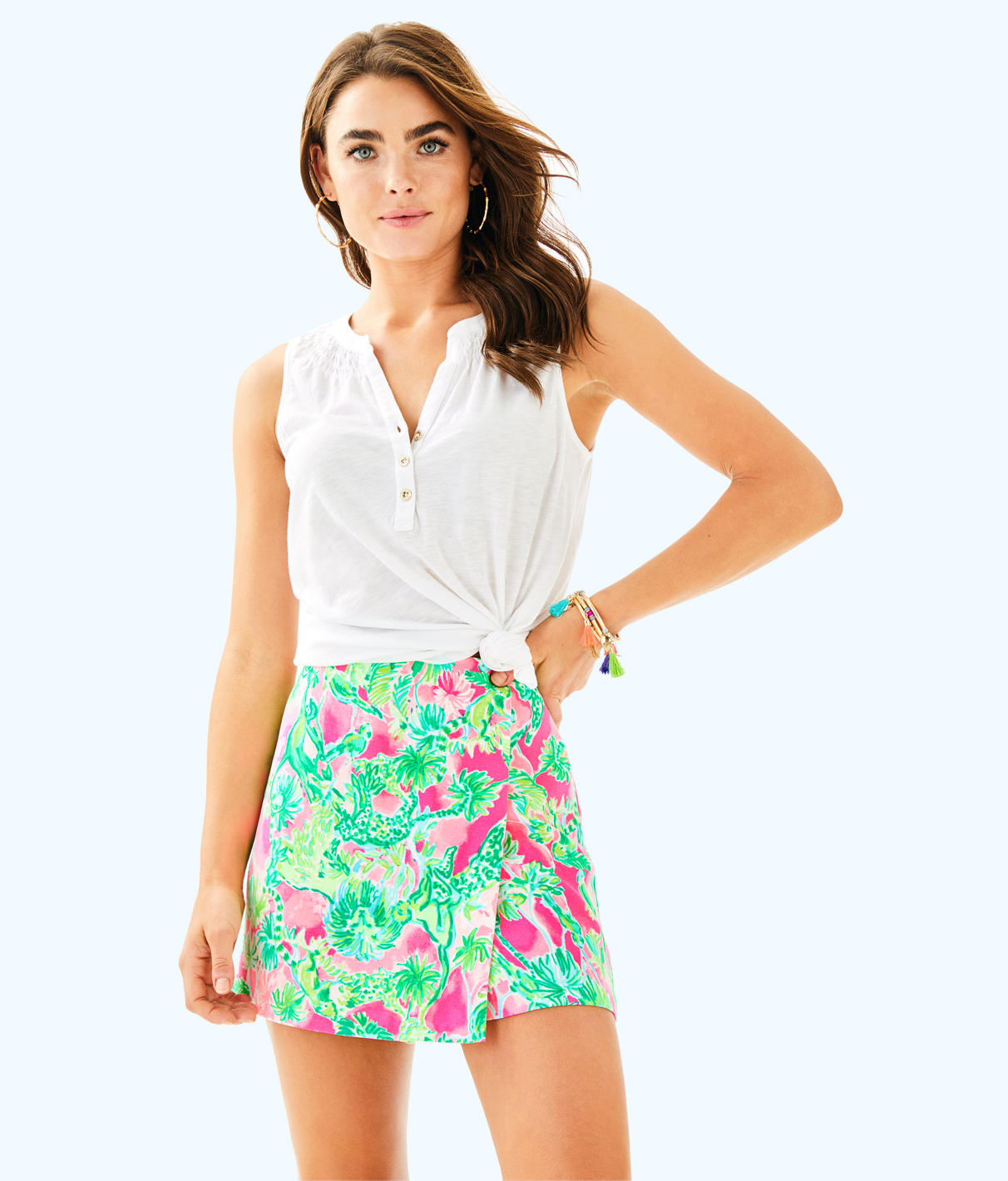 Lilly Pulitzer Lilly Pulitzer Womens Cassia Skort