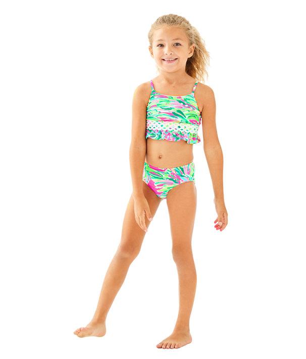 UPF 50+ Girls Katrina Bikini, , large