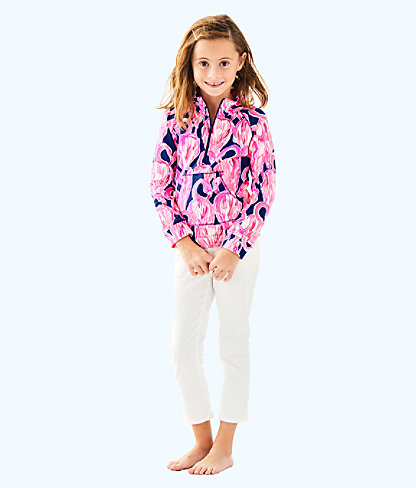 Girls Little Skipper Popover, High Tide Navy Via Amor, large