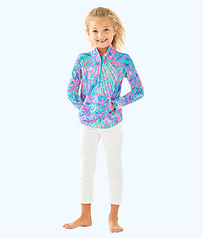 Girls Little Skipper Popover, Pink Sunset Coco Breeze, large