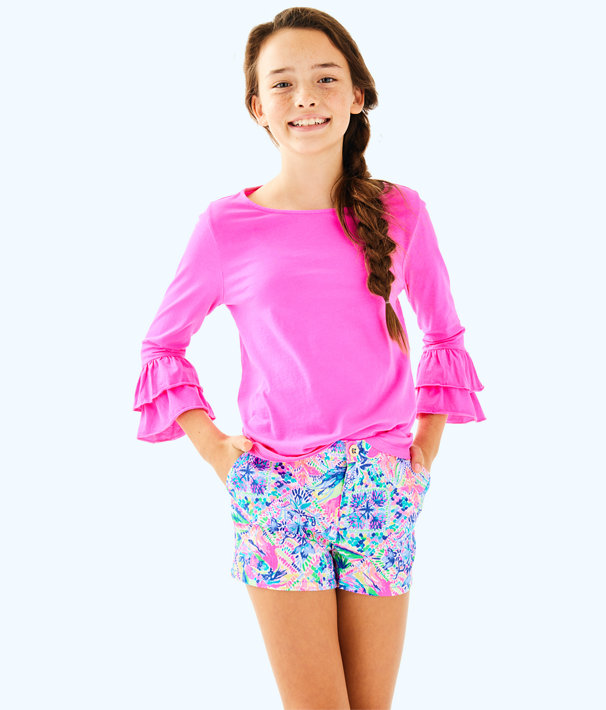 Girls Mazie Top, Raz Berry, large
