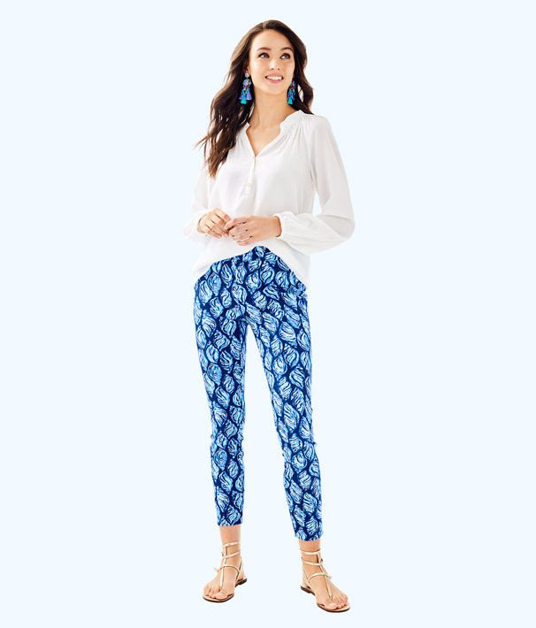 "28"" Keliani Stretch Pant, High Tide Navy Drop In Navy, large"