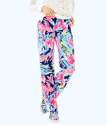 "33"" Madeira Pant, High Tide Navy Tropicolada, large"