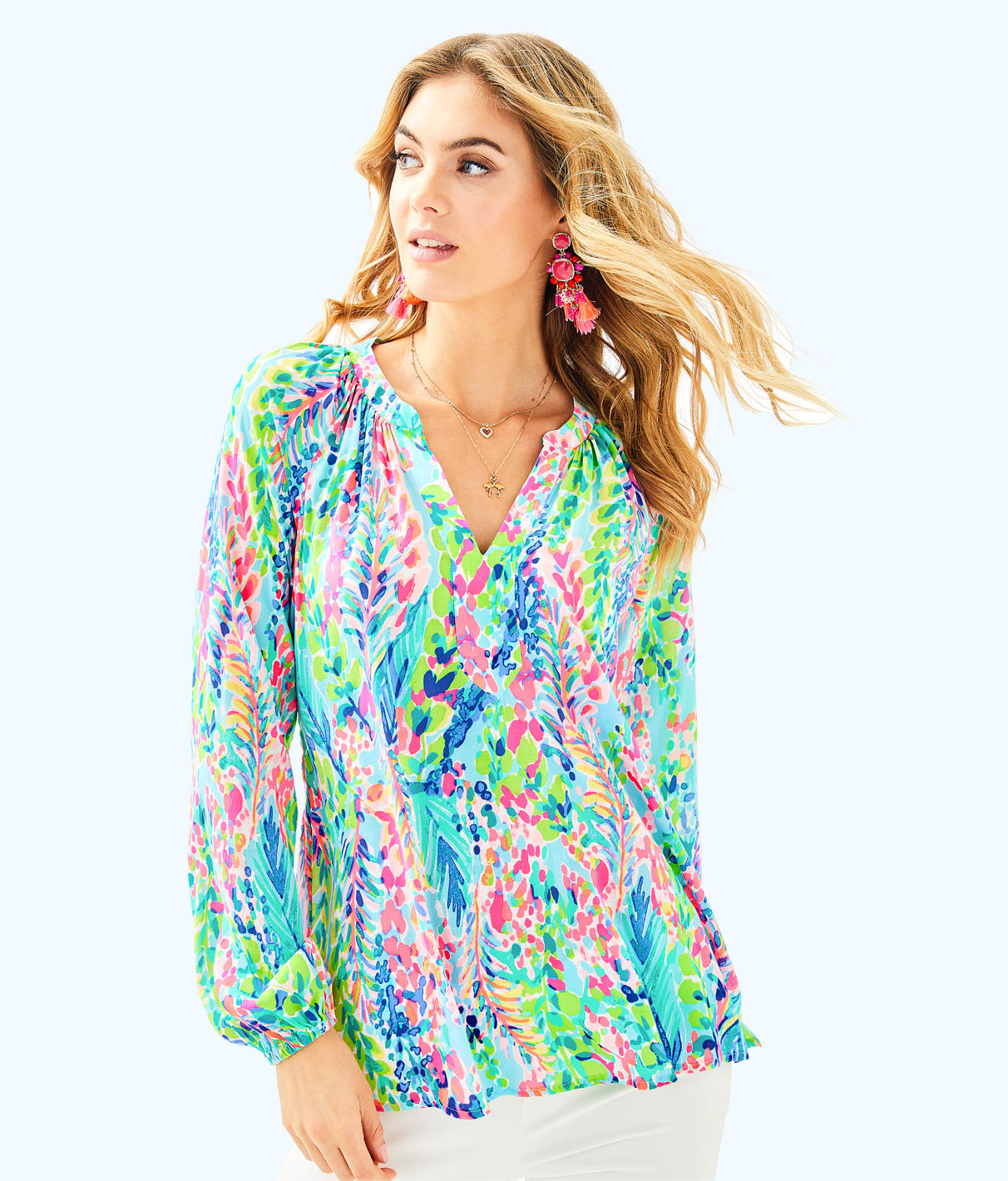 Lilly Pulitzer Lilly Pulitzer Womens Martinique Top