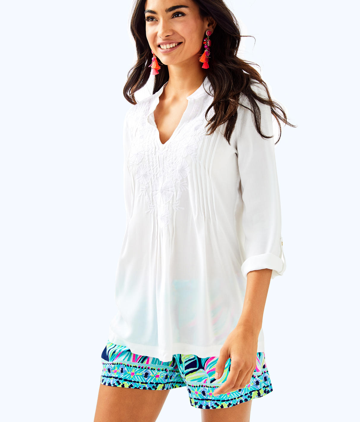 Lilly Pulitzer Lilly Pulitzer Womens Sarasota Tunic