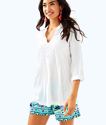 Sarasota Tunic, Resort White, large
