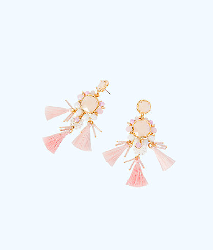 Waterside Earrings, Paradise Tint, large