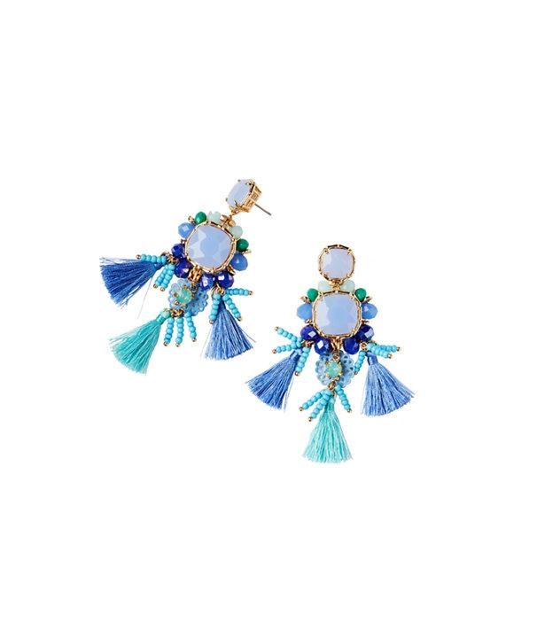 Waterside Earrings, Seasalt Blue, large