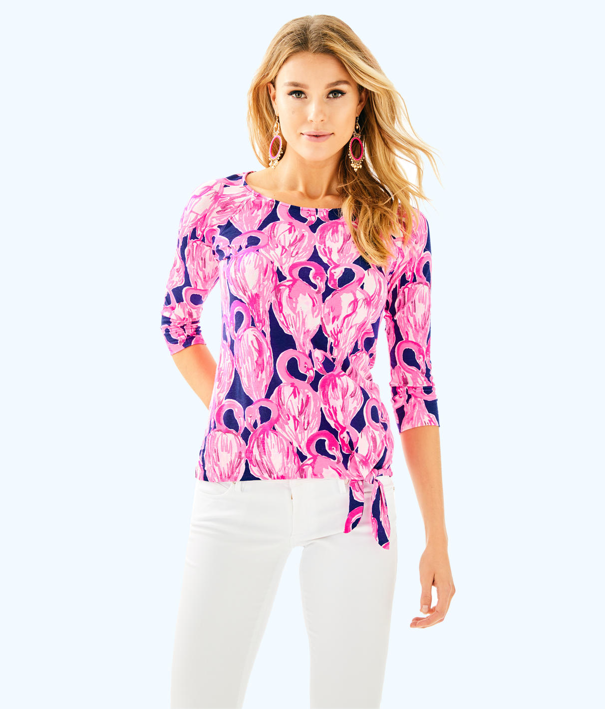 Lilly Pulitzer Lilly Pulitzer Womens Robyn Top