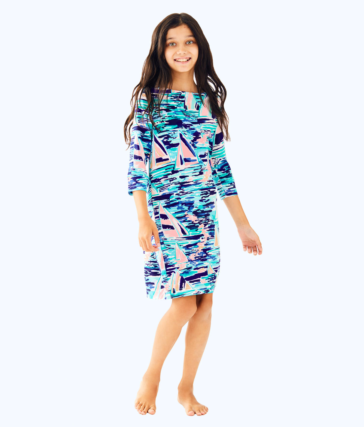 Lilly Pulitzer Lilly Pulitzer UPF 50+ Girls Mini Sophie Dress