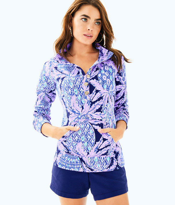 UPF 50+ Captain Popover, Lilac Verbena Pop Up Coco Safari, large