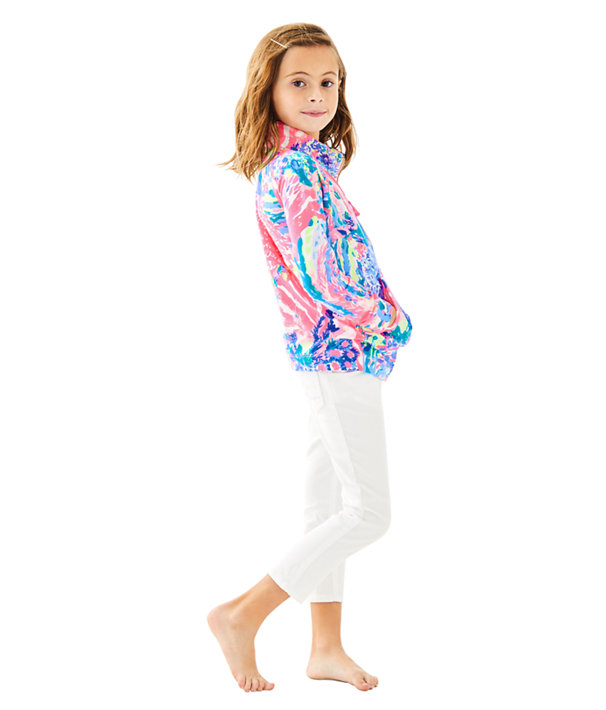 Girls Little Skipper Printed Popover, , large